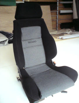 VW golf Recaro 2